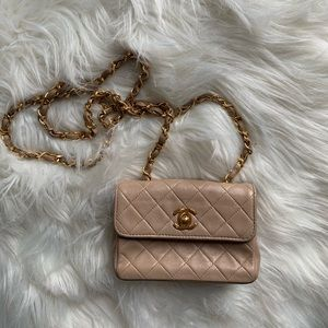 Vintage Classic Chanel Extra Mini Bag